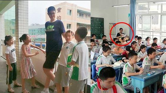 Bocah 11 Tahun Ini Memiliki Tinggi 2,06 Meter dan Berhasil Pecahkan Rekor Dunia