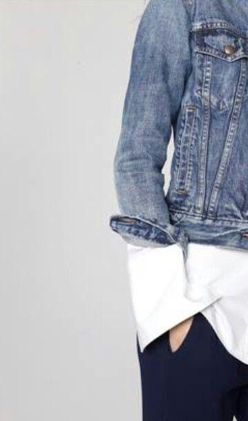 jaqueta + camisa
