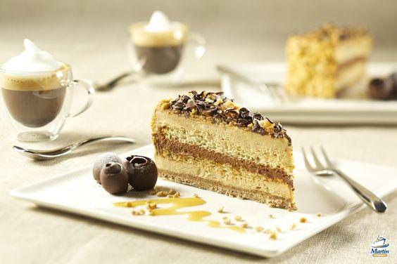 Capuccino + Moka cake