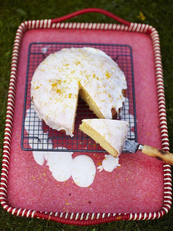 Jamie's Great Britain My Nan's St. Clement's cake
