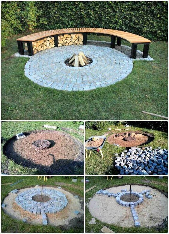 62 Feuerstelle Ideen Zu Diy Gunstige Feuerstelle Fur Ihren Garten Yardideas Feuerstelle Garten Feuerstelle Gartengestaltung