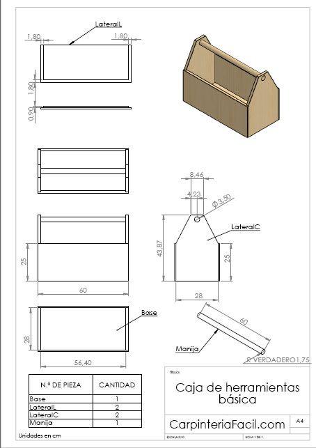 Diagrama de caja de herramientas b sica carteles pinterest - Cajas de erramientas ...