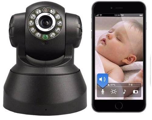 Babá Eletrônica Câmera Wifi Visão Noturna Microfone S/ Fio - R$ 169,99 no MercadoLivre