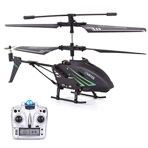 Vatos Rc Helicopter Remote Control Helicopter With Gyro And Led Light 3 5 Channel Alloy Mini Helicopter Re Remote Control Helicopter Helicopter Helicopter Toy