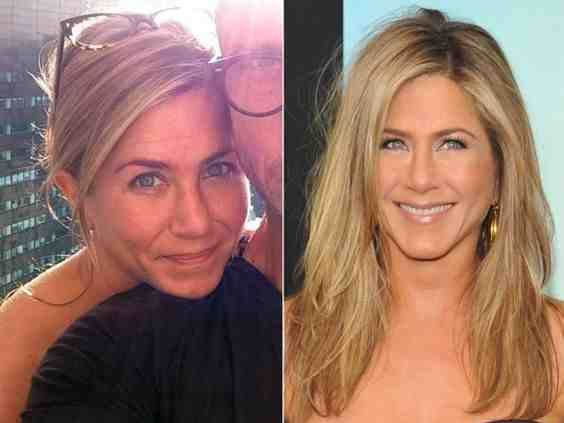 صور ممثلات قبل وبعد ال مكياج صورة 5 Jennifer Aniston Without Makeup Celebs Without Makeup Without Makeup