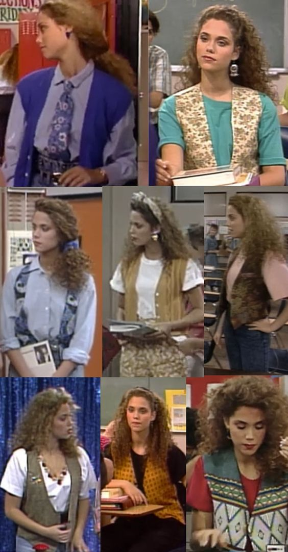 """Like REALLY into vests. 