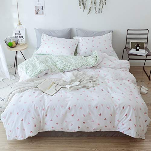100 Cotton Quilt Cover Set Multi Color Quilt Cover Soft And Breathable Bedding Set 4 Piece Set Queen King Full Bedding Sets Duvet Cover Sets Quilt Cover Sets