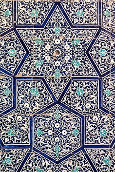 Tiles, Ark, Khiva, Karakalpakstan. Photo by Christopher Rose.