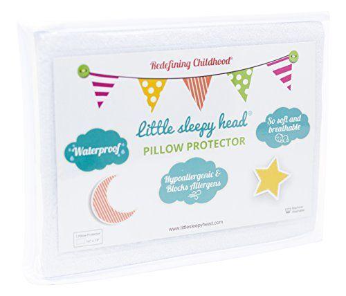 2-Pack Little Sleepy Head Toddler Pillow Protectors