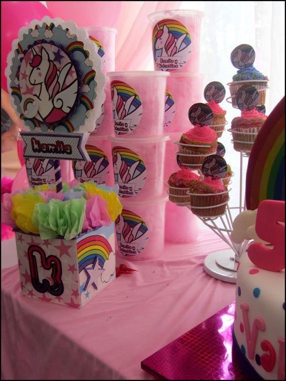 Unicorn party decoration ideas fiesta de unicornio ideas - Idea de decoracion ...