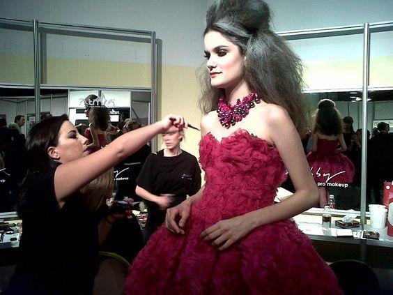 Buenos Aires Alta Moda 2013 - Pryor #maquillaje #moda