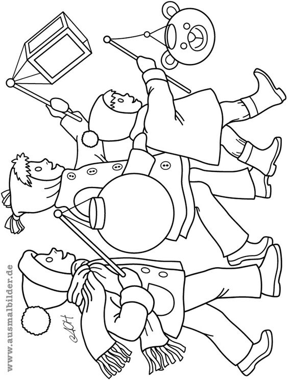 Großartig Laternenumzug Malvorlage Fotos - Ideen färben - blsbooks.com