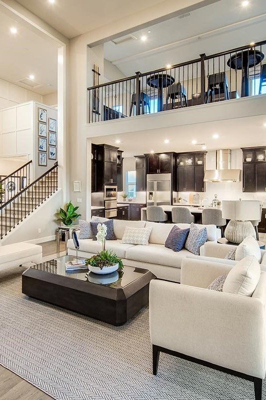 New Cypress Community Features Large Homesites Tucked Along The Golf Course Where You Can E Open Living Room Design Beautiful Houses Interior Dream Home Design