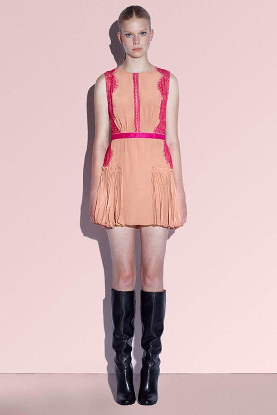 £110.00 Three Floor Carmen Lace Dress
