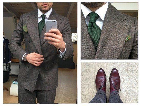 Zielony Krawat Z Grenadyny Garza Fina Akcesoria Krawaty Grenadyna Business Wesele Sklep Poszetka Com Jedwabne Poszetki Muchy Pantsuit Suits Pants