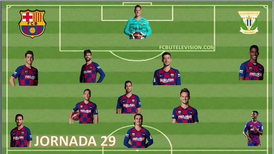 FCB 2 LEGANES 0