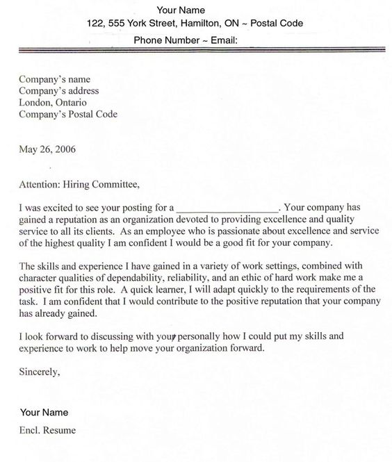 Pinterest  Cover Letters For Employment