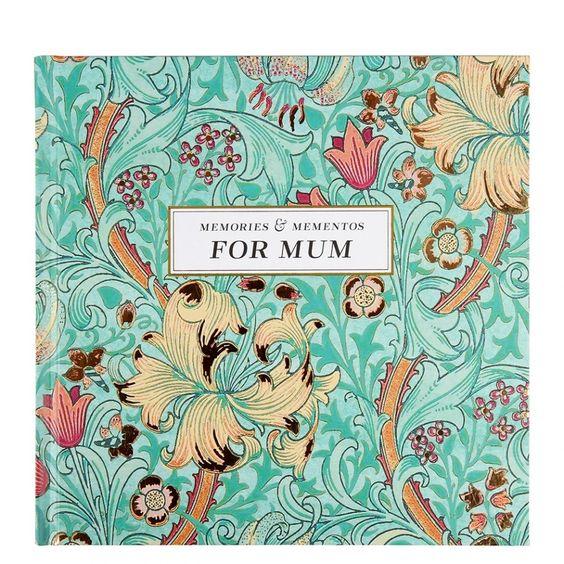 Memories & mementos for mum journal