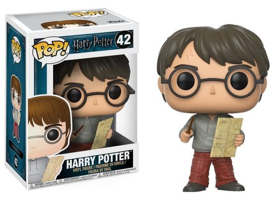 42 Harry Potter con Marauders Map Funko Pop