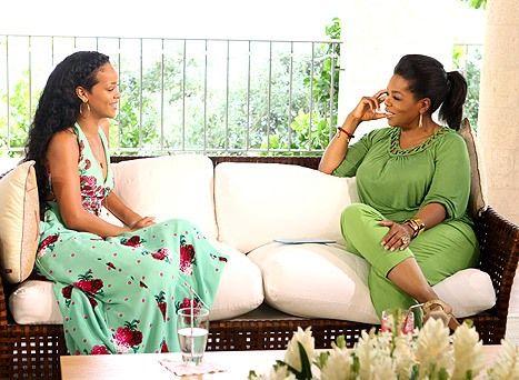 "Rihanna Talks About Chris Brown to Oprah: ""I Lost My Best Friend"""