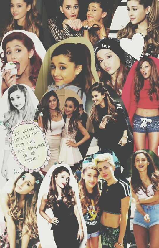 Ariana Grande 2014 collage ariana grande Pinterest
