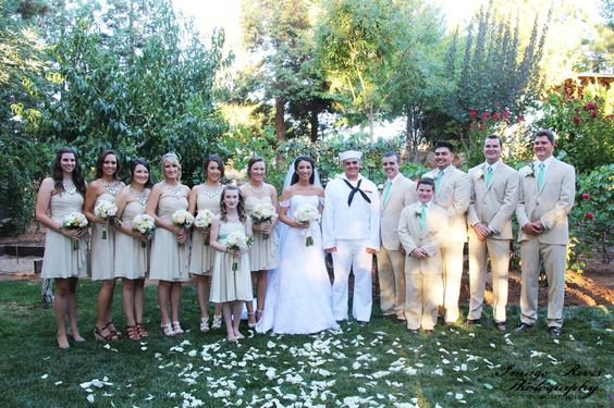 The Wedding Party!