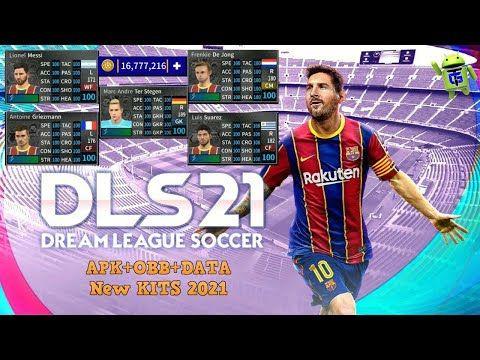 Dls 21 Apk Mod Dream League Soccer 2021 Apk Mod Obb Data Barcelona Full Team New Kits 2021 Unlimited Money New Transfers Full In 2020 Barcelona Team League Soccer