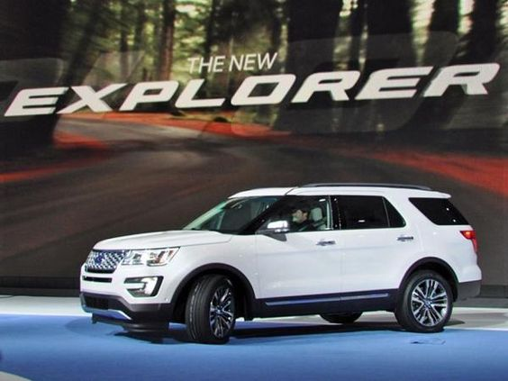 2017 Ford Explorer Redesign And Train