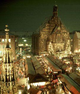 Christmas Market - Nuremberg, Germany