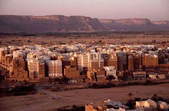 Cidade antiga de Shibam, Iémen