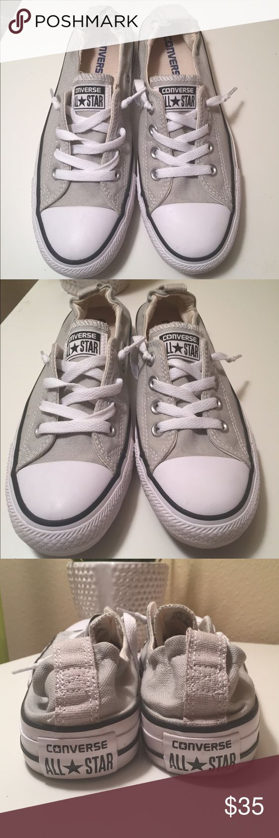 All star chuck Taylor shoreline converse women 7.5 All star chuck Taylor converse shoreline women's size 7.5. worn twice great pre owned condition.If you have any questions feel free to ask 😊❤️ Converse Shoes Sneakers