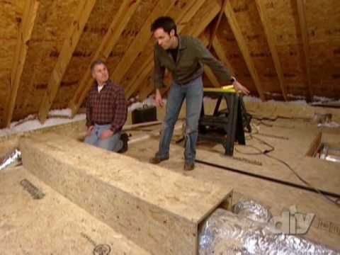 Diy Network Attic Spaces And Attic Storage On Pinterest
