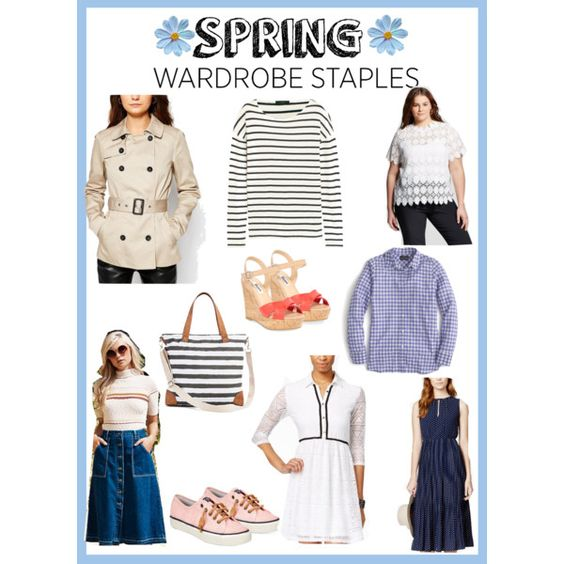 Spring Wardrobe Staples: