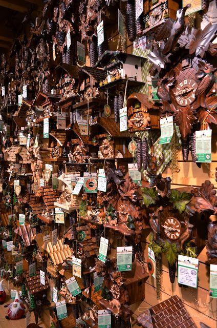 Tara Goes Europe: Triberg im Schwarzwald, Black Forest, Deutschland. House of 1,000 Clocks Tara goes cuckoo clock shopping!
