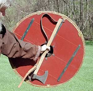 Viking Hand to Hand Combat | During the Viking age, axe hafts were probably created using riving ...