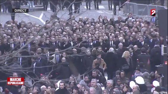 MARCHE  RÉPUBLICAINE #marcherepublicaine  #CharlieHebdo #républicaine #france2 #MillennialMonitor Millennial Monitor