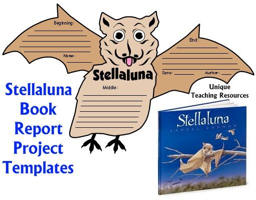 Stellaluna Lesson Plans And Fun Projects On Pinterest