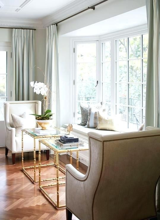 The Best Large Bay Window Curtain Rods Ideas Awesome Large Bay