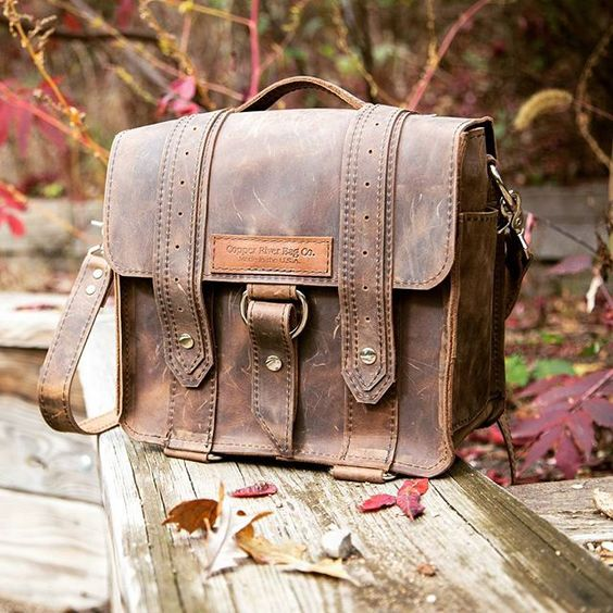 Here at #copperriverbagco our true #passion is #handcrafting this #gorgeous #beautiful #camerabag and so much more. Visit our website for our line of #fullgrainleather #bags we make right here in the #US just for you!  www.copperriverbags.com  #fallfashio