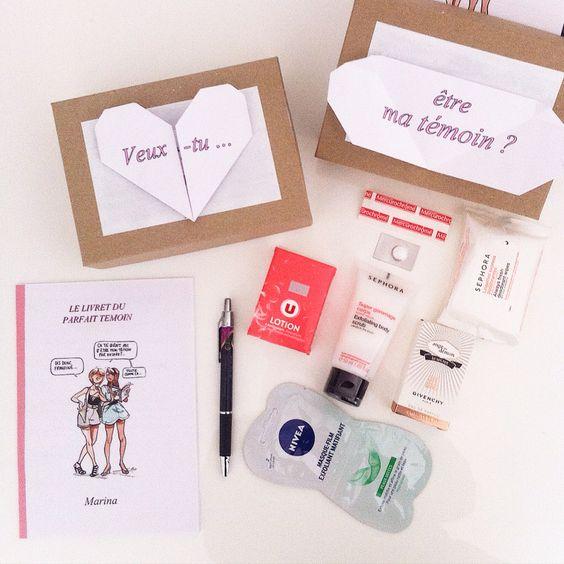 Pinterest le catalogue d 39 id es - Idee cadeau temoin mariage ...