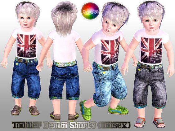 OBJnoora :: Toddler_Denim_Shorts_(unisex)