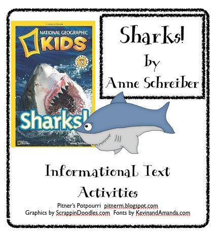 Classroom Freebies: Informational Text -- Sharks!