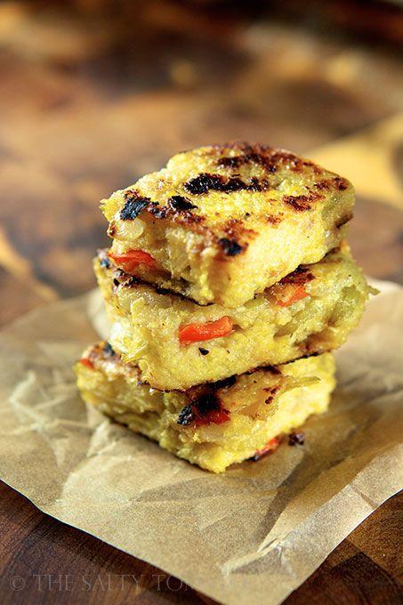 ... Tomato | Polenta Cakes – Meatless Monday | http://the-salty-tomato
