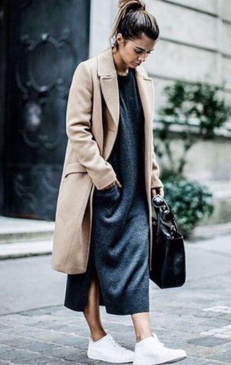 Triko Elbise Kombinleri 2018 2019 Kis Modasi Moda En Son Moda Trendleri Tarz Moda