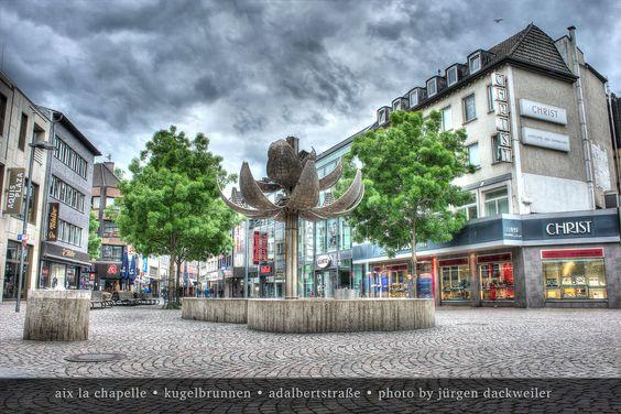 Kugelbrunnen Aachen