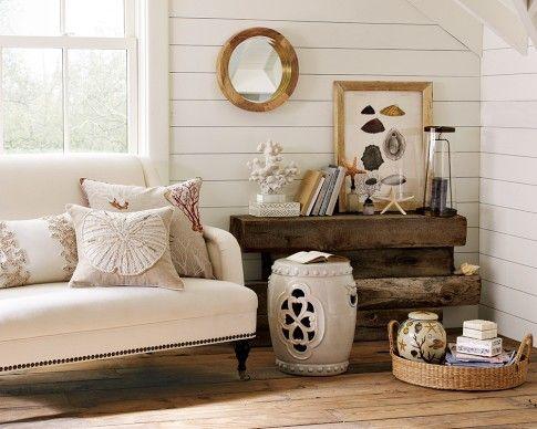 Nautical sitting room