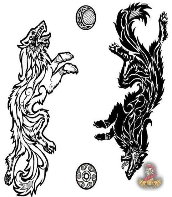 Pin By Lyndsay Bullock On Beautiful Heathen Heart Viking Tattoos Norse Tattoo Tribal Wolf Tattoo