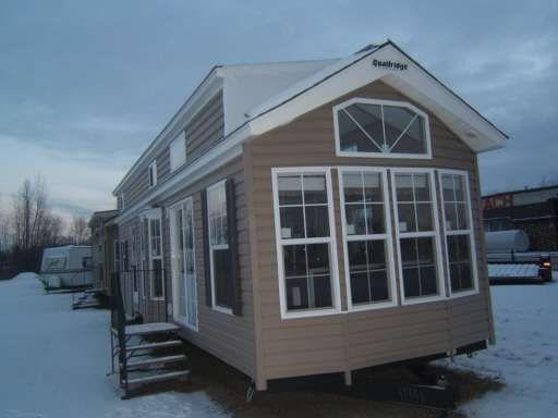 Park Model Quailridge Tall Drop Double Loft Cabin House