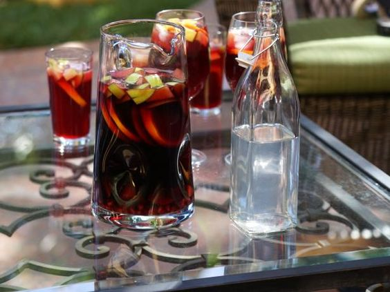Get Fresh Fruit Sangria Recipe from Food Network