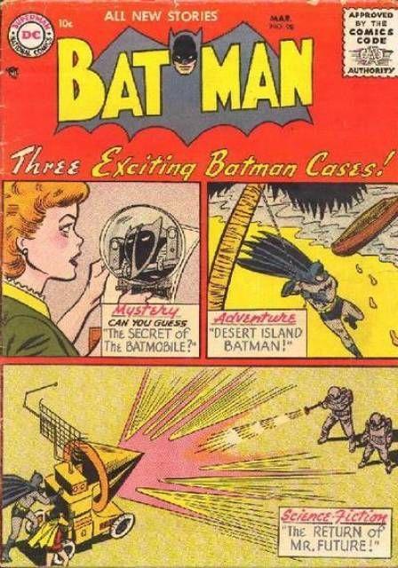 Batman is the best. Batman #98 - The Web of Doom; City of Fantasy; The Adventures of Batboy! (Issue)